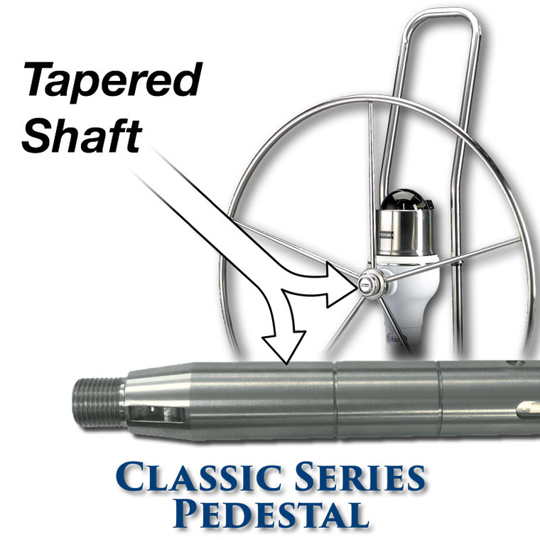 402 Classic Series Pedestal - 11 Tooth Sprocket - Tapered Shaft