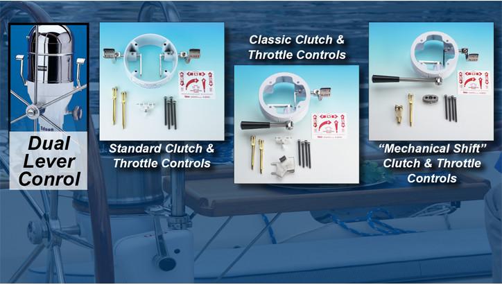 Dual Lever Engine Controls