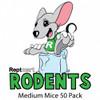 Medium Mice 50 Pack (13-17g)