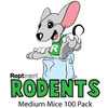 Medium Mice 100 Pack (13-17g)