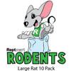 Large Rat 10 Pack (200-274g)