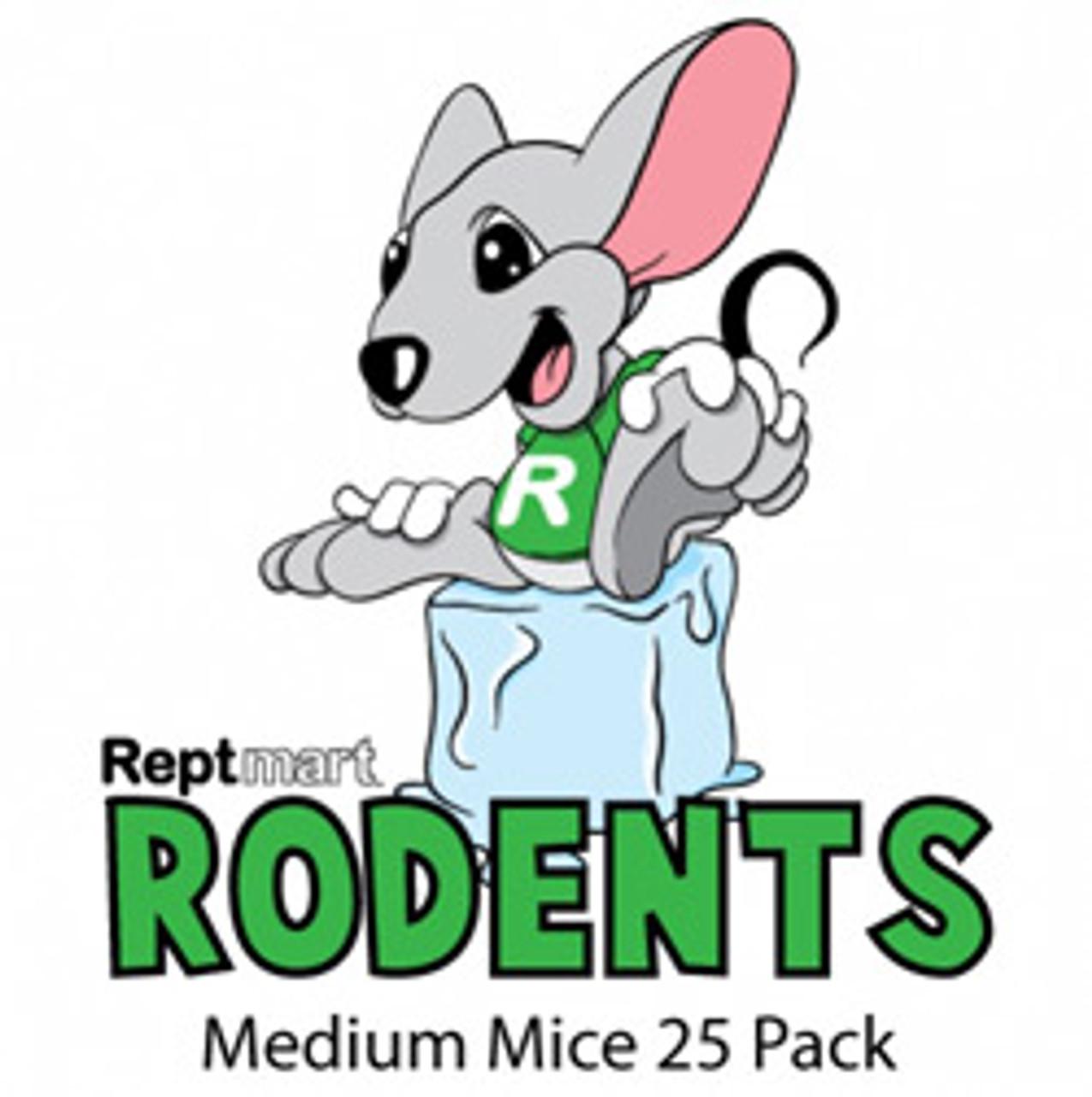 Medium Mice 25 Pack (13-17g)