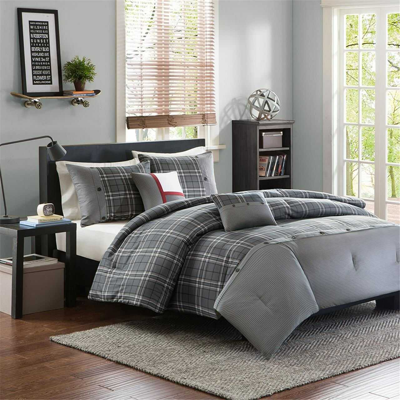 Ens Douillette Comforter Set Daryl Queen 5 Mcx Pcs Giftopolis