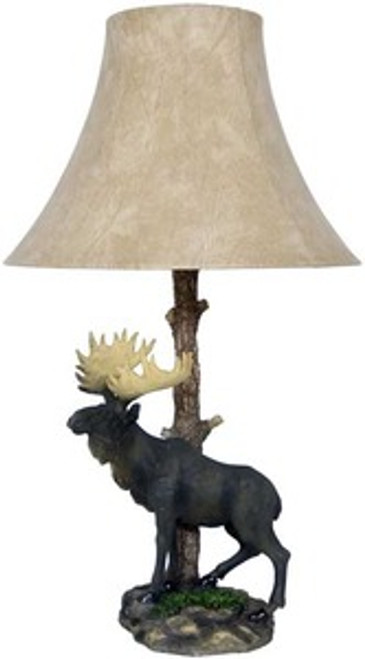 Realistic Moose Tree Lamp