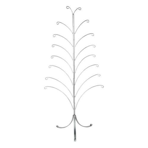 Silver Tree Ornament Holder