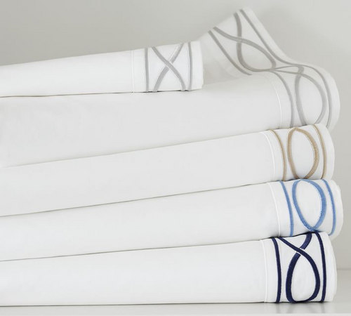 INFINITY EMBROIDERED 350 THREAD COUNT SHEET SET