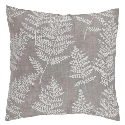 White and grey sofa throw pillow cushion