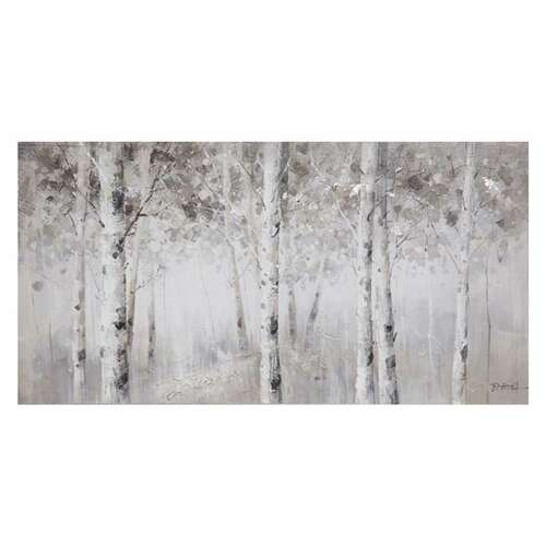 Giftopolis White Trees on Canvas Print- online shopping in Canada