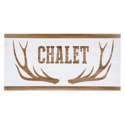 Chalet Wall Plaque