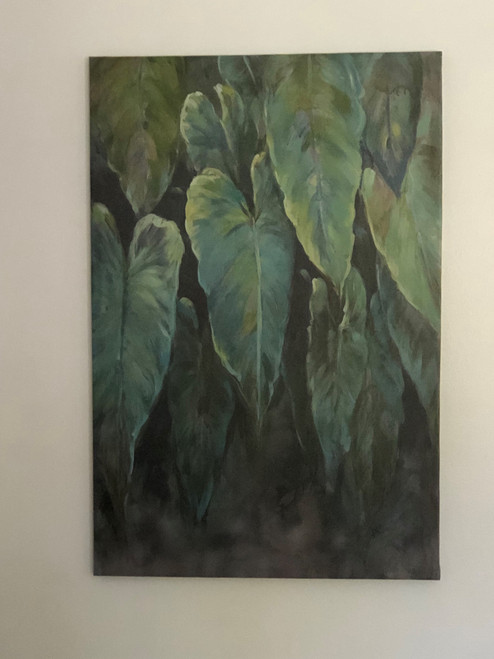 Large Tropical Foliage Plant Wall Art Canada