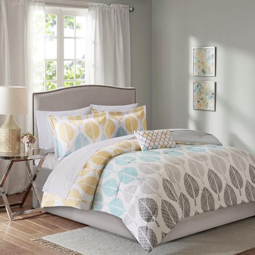 Central Park King Multi Comforter Set 9pcs