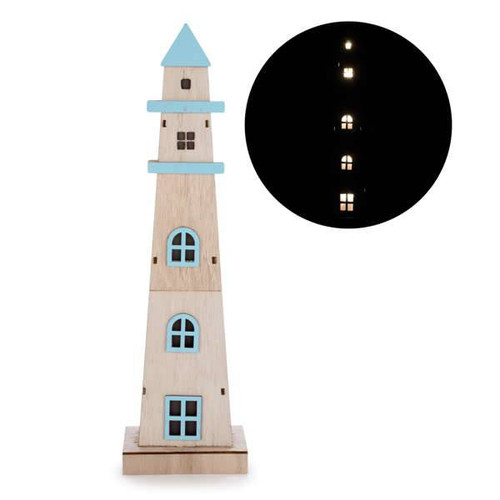 Wooden LED Lighthouse