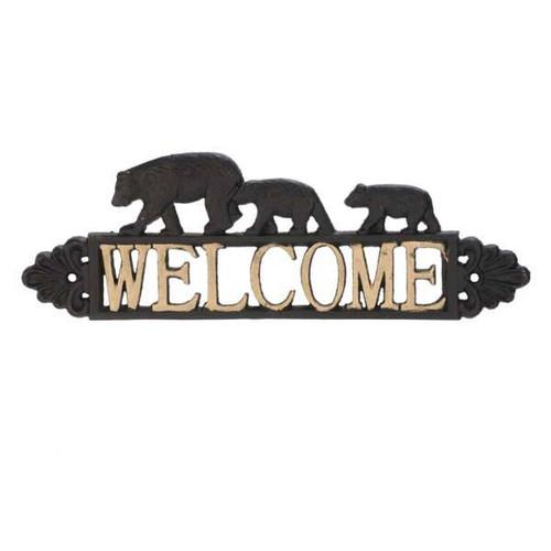 Welcome Bear Metal hook two tone