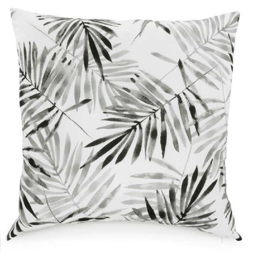 black tropical  decorative throw pillow sold in canada