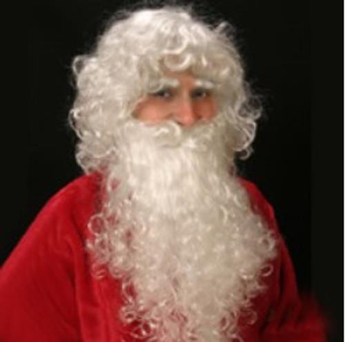 Santa Wig and Beard set  White Giftopolis.ca