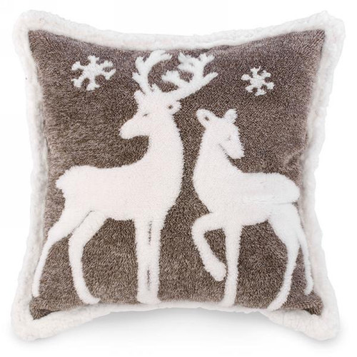 Two deer soft cozy xl cushion 20 by 20 inches