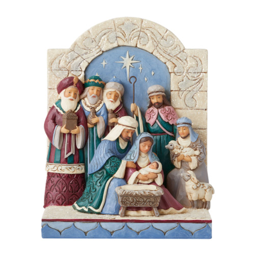 Jim Shore Victorian Nativity Scene