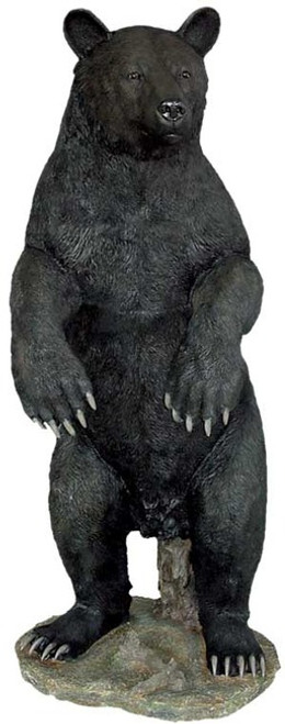 5 foot Standing Large Black Bear