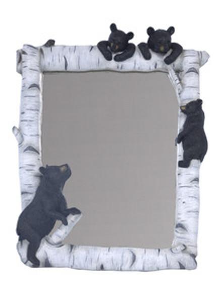 4 Bears Birch Mirror