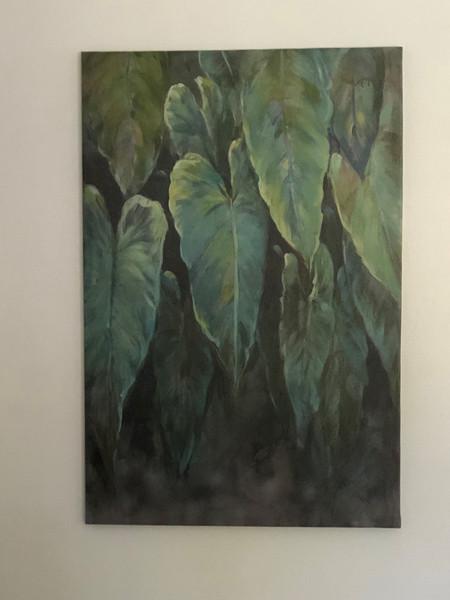 Large Tropical Foliage Plant Wall Art Canada