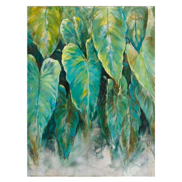 Large tropical foliage plants