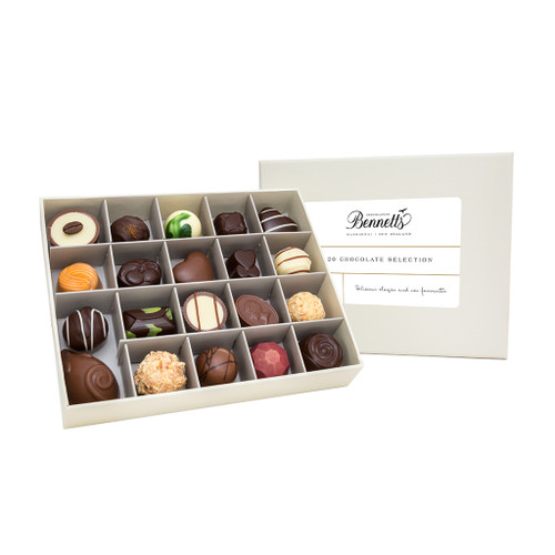These 20 handmade chocolates offer Bennetts' own take on what's truly Kiwi.