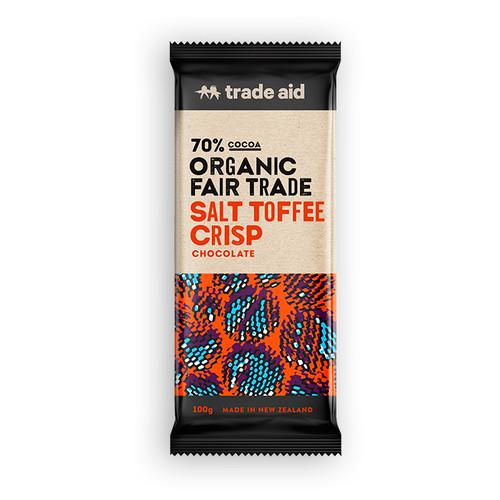 Trade Aid Chocolate.