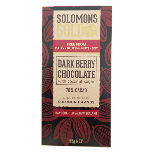 Solomons Gold Dark Berry 70%