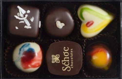 Shoc Chocolate assortment.
