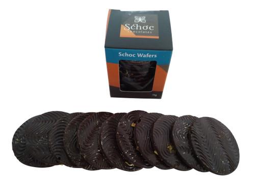 Shoc Chocolate Dark Wafers.