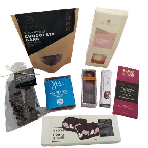 Chocolate Treasure Box.