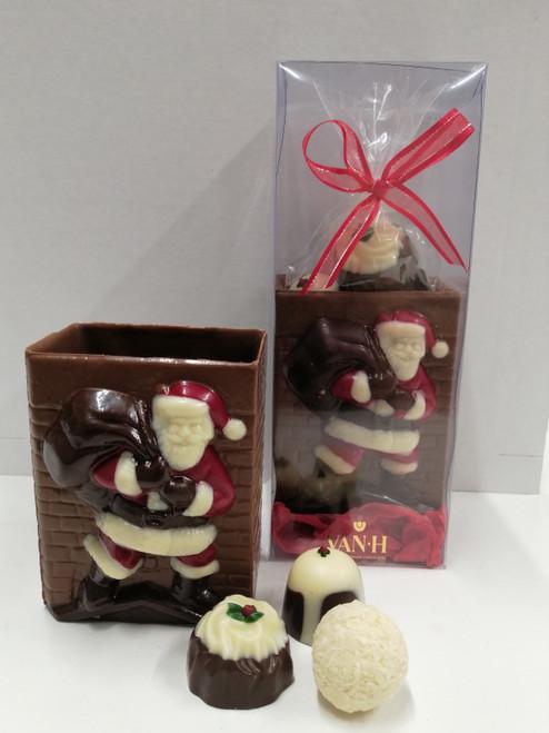 Chocolate Christmas Chimney.
