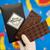 Baron Hasselhoff Dark Chocolate Artisan Bar.
