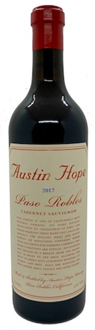 Austin Hope Cabernet 2017