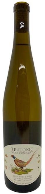 Teutonic David Hill Vineyard White Wine 2017