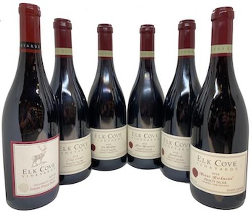 Elk Cove Pinot Noir Single Vineyard 6-Pack