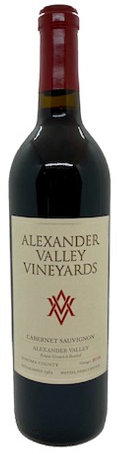 Alexander Valley Vinyards Cabernet 2018