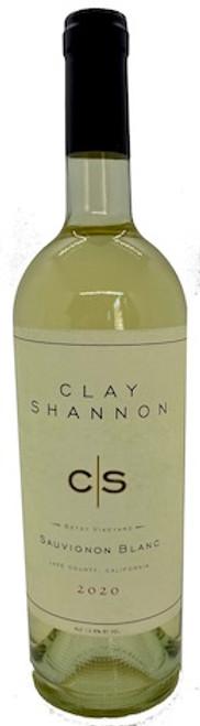 Clay Shannon Sauvignon Blanc 2020