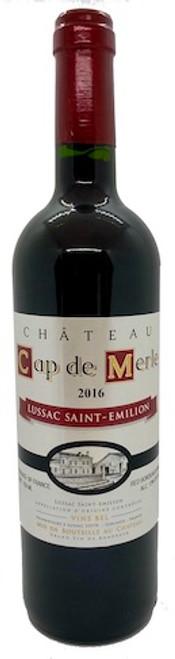 Chateau Cap de Merle Lussac Saint-Emilion 2018