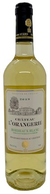 Chateau L'Orangerie Bordeaux Blanc 2019