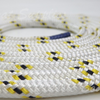 Hamilton Double-Braided Polyester Rope - 10mm Yellow/Black Fleck (per metre)
