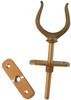 Bronze Rowlocks - Open Even Fork (pair)