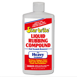 Starbrite Liquid Rubbing Compound - Heavier Oxidation (473ml)