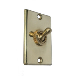 Brass Light Switch
