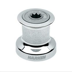 HARKEN Plain-Top Classic Chrome Winch - Single Speed