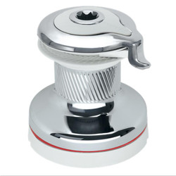 HARKEN Radial Self-Tailing Winch - Chrome, White, 1 & 2 Speed