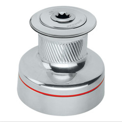 HARKEN Plain-Top Classic Radial Chrome Winch - 2 Speed