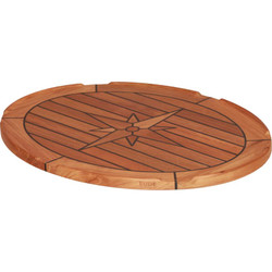 Teak Table Top - Eliptical