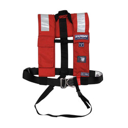 Stormy Life Vest Plus with Pro-Sensor, PLB Pocket & Harness - 200N