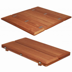 Teak Table Top - Wing - Folding Sides